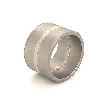 Niessing ring Fusion met platina
