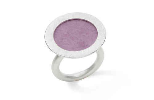 Michaela Binder ring met vilt 20 mm