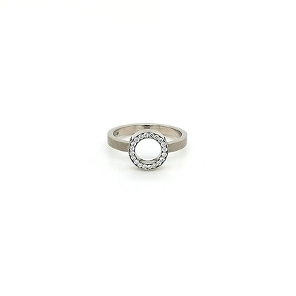 Nobilia ring met diamanten