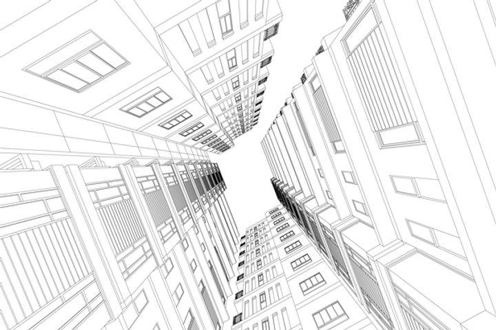 skyscrapers-structure-architecture-vecto