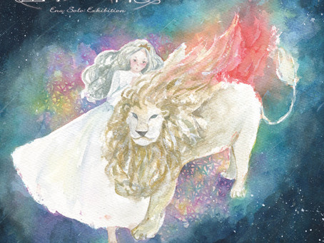 8月14-16 東京個展『星影の祈り』