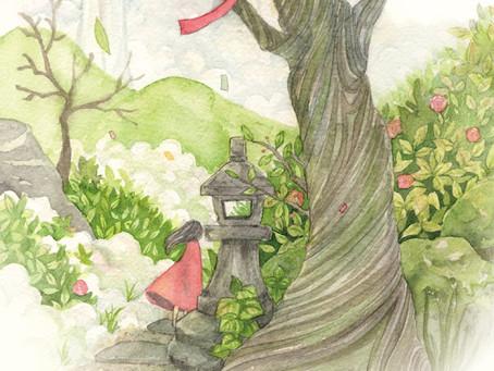 初個展「思い出の庭」