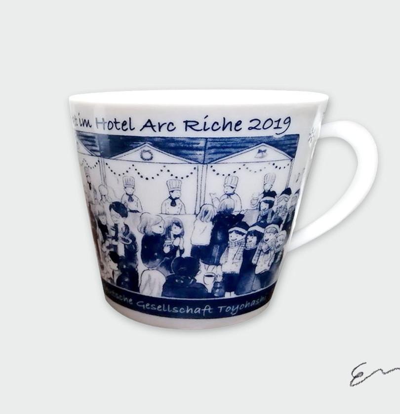 豊橋クリスマスマーケット オリジナルマグカップ2019