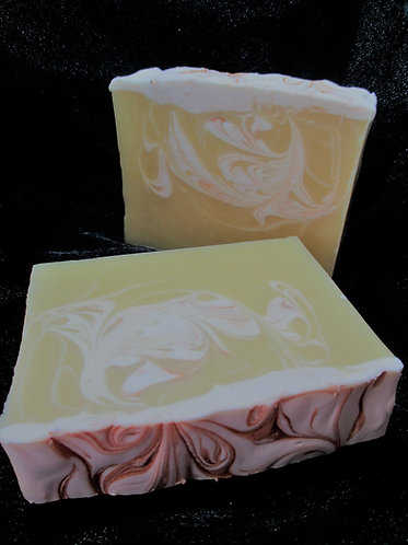 Sweet Orange & Patchouli Handcrafted Soap