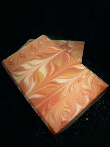 Tropical Taiwan Swirl Handcrafted Soap