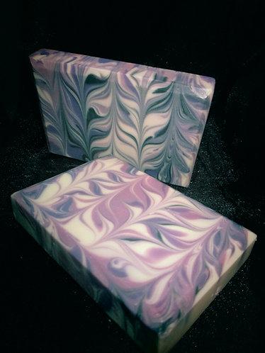 Mauve Taiwan Swirl Handcrafted Soap