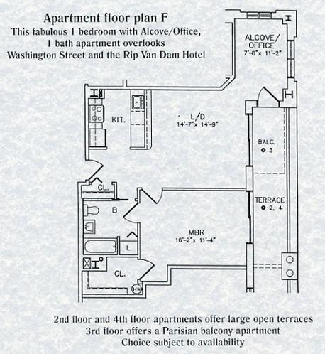 Apartment F