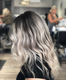 Color by Amani & Blow dry by Sabrin