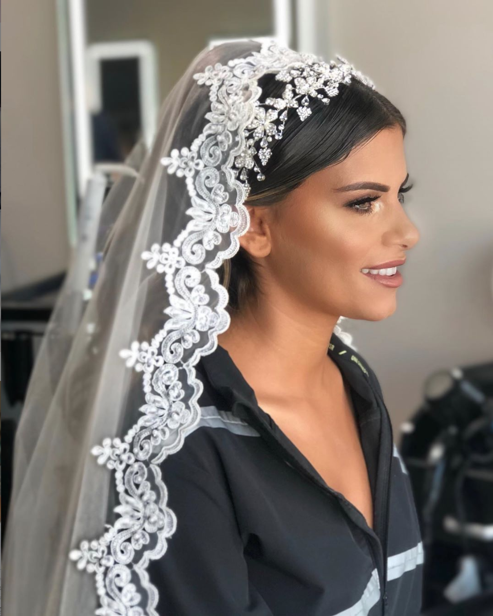 Bridal hair by Amani/Makeup by Houda