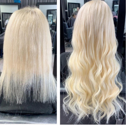 Micro beaded extentions by Souheila