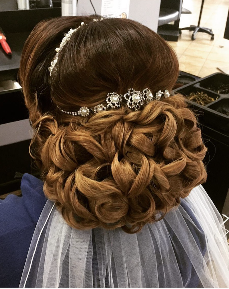 Bridal Hair by Nadia