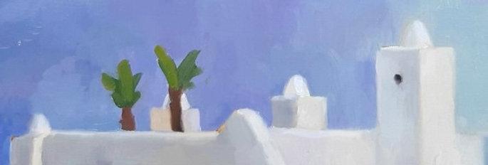 "Original Oil Painting by Zineb El Kouhen ""Le Nord"""