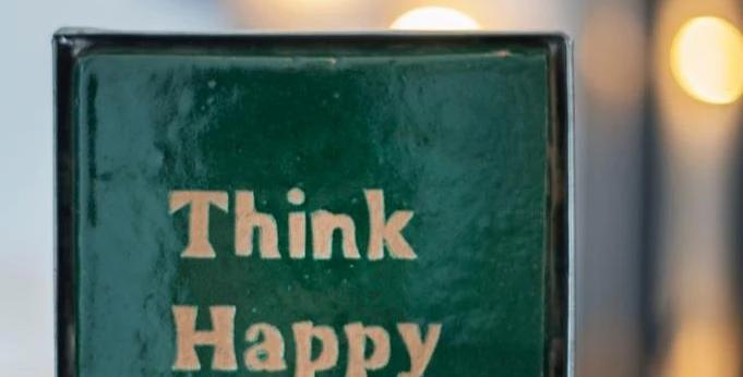 Handmade Zellige Tile - Think Happy