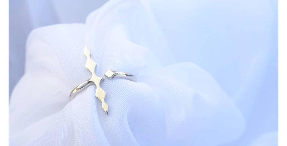 Handmade Silver - Ishtar Ring - The Goddess of Fertility