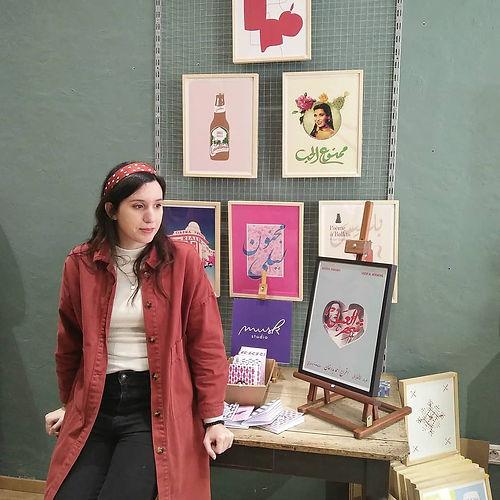 fadwa in her studio.jpg