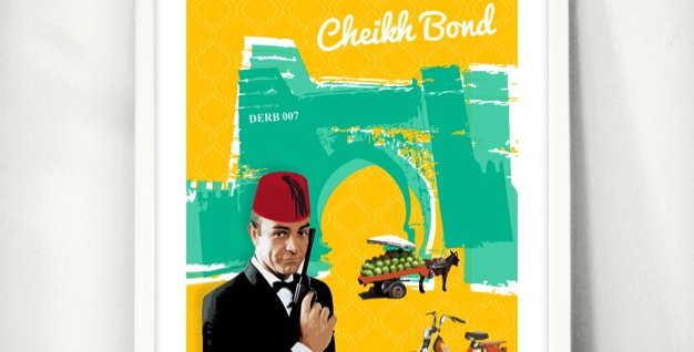 """Cheikh Bond"" Wall Art"