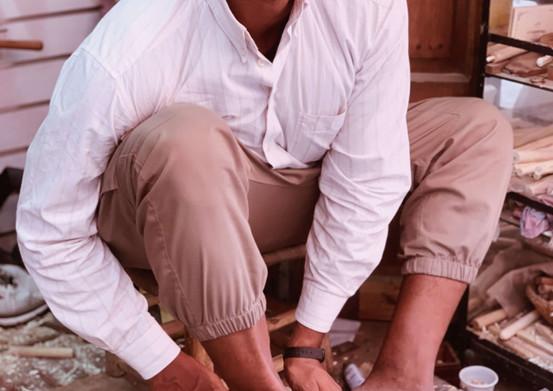 The Nopo- Smiling Artisan in Marrakech M