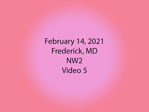 February 14 Frederick, MD NW2: Container #2