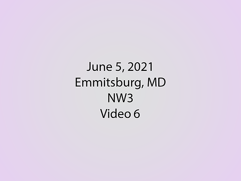 June 5 NW3 Trial, Emmitsburg, MD: Interior 2