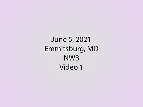 June 5 NW3 Trial, Emmitsburg, MD: Container 1