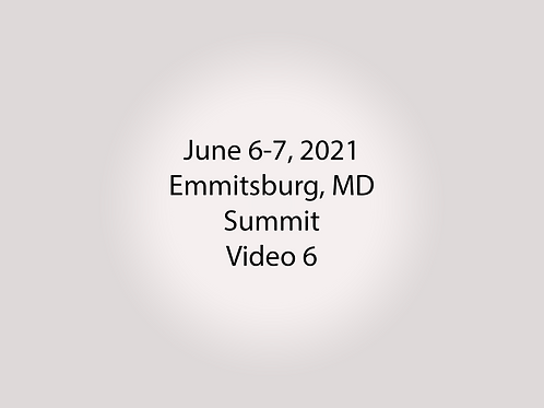 June 6-7 Summit Trial, Emmitsburg, MD: Terrace Lounge