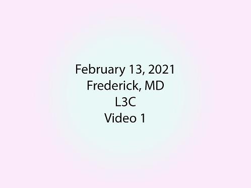 February 13 Frederick, MD L3C