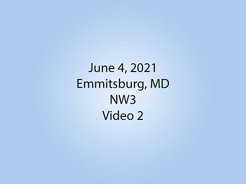 June 4 NW3 Trial, Emmitsburg, MD: Vehicle