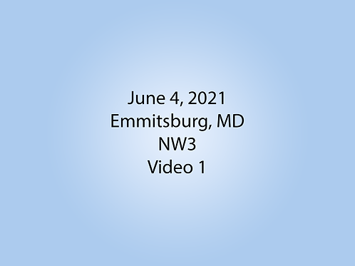 June 4 NW3 Trial, Emmitsburg, MD: Container 1