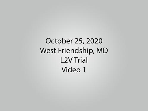 October 25 West Friendship, MD L2V: Barnyard
