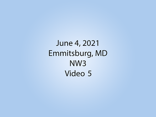 June 4 NW3 Trial, Emmitsburg, MD: Interior 2