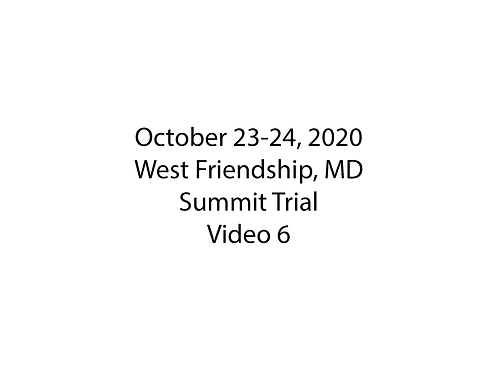 October 23-24 West Friendship, MD Summit Trial: Farm to Table