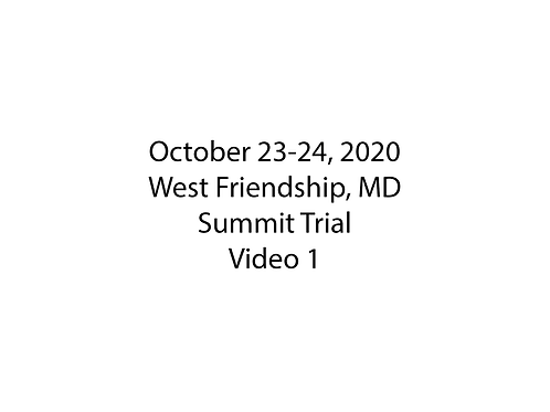 October 23-24 West Friendship, MD Summit Trial: Museum