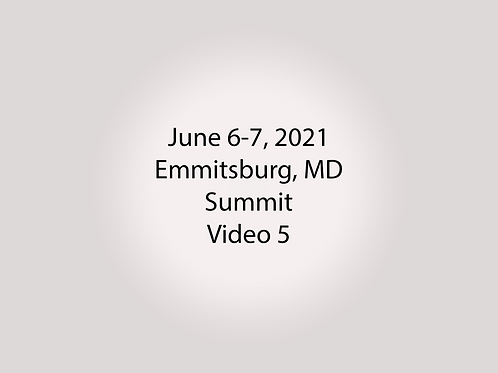 June 6-7 Summit Trial, Emmitsburg, MD: Pang Dorms