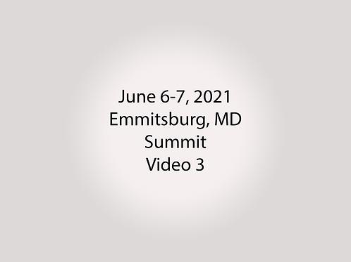 June 6-7 Summit Trial, Emmitsburg, MD: Upper Library