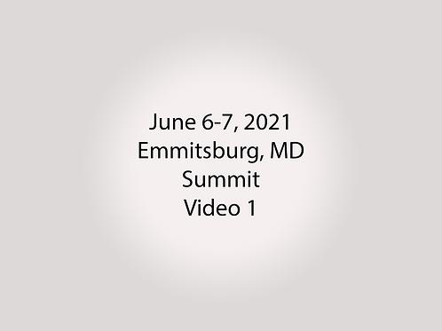 June 6-7 Summit Trial, Emmitsburg, MD: Lower Library