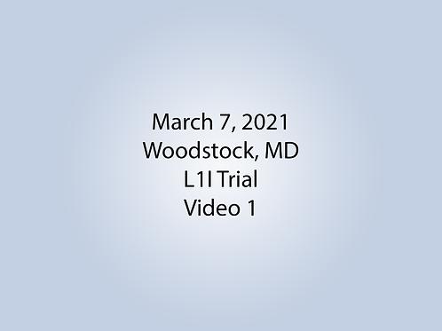 March 7 Woodstock, MD L1I: Lobby