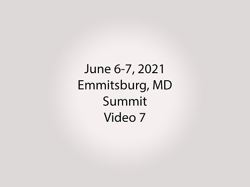June 6-7 Summit Trial, Emmitsburg, MD: PAC Container