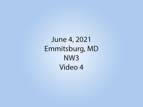 June 4 NW3 Trial, Emmitsburg, MD: Interior 1