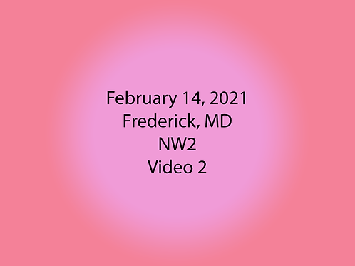 February 14 Frederick, MD NW2: Vehicles