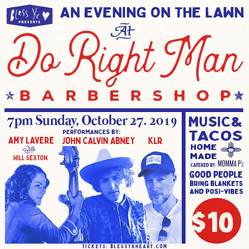 An Evening On The Lawn :BYH 10/27/19