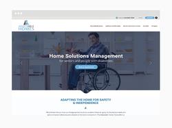 Home Solutions Web Design Sample