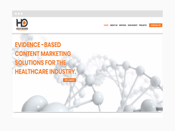 Medical Web Design Sample