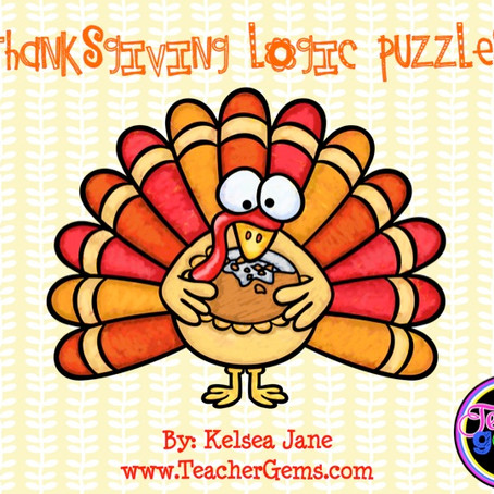 Thanksgiving Math and Critical Thinking Activities!