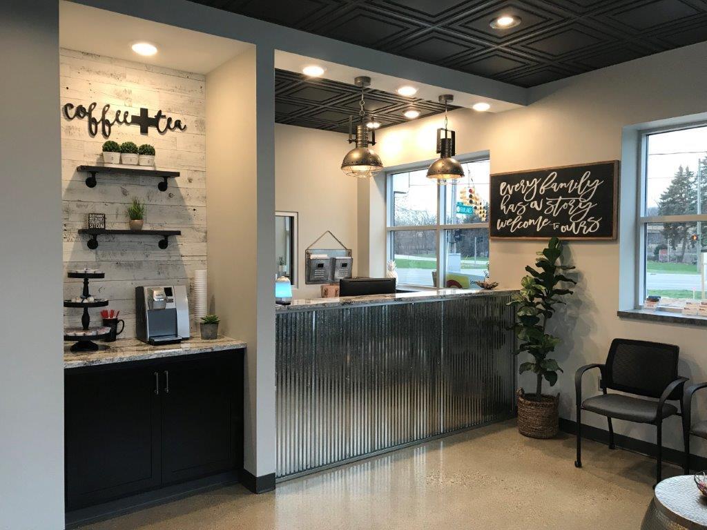 Customer Waiting Area