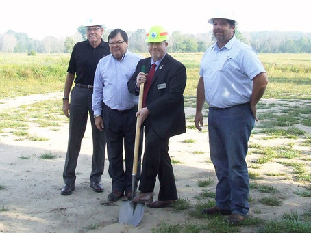 A Ground Breaking Ceremony, At Last