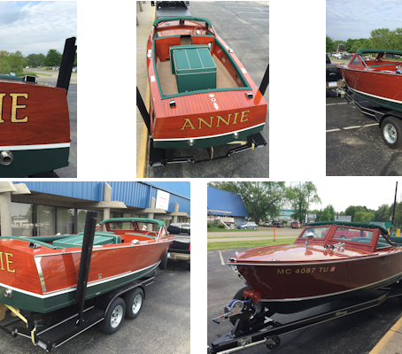 Completion of the 22' Grand Sport.