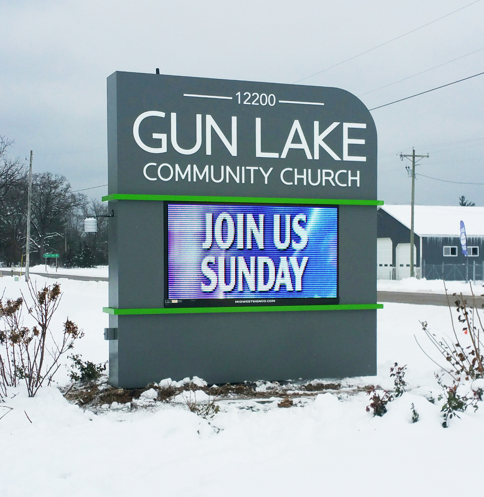 Gun Lake community church