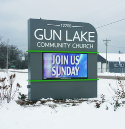 Gun Lake community church