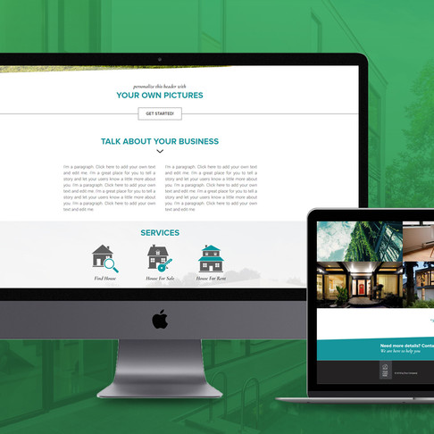 Free Wix Modern Look Website Template by CIS Agency