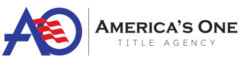 America's One Title Agency Logo